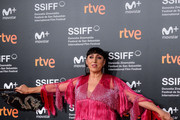 Rossy de Palma attends the red carpet of the closure gala during 66th San Sebastian Film Festival at Kursaal on September 29, 2018 in San Sebastian, Spain.