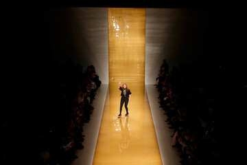 Reem Acra Mercedes-Benz Fashion Week Fall 2015 - Aerial Views