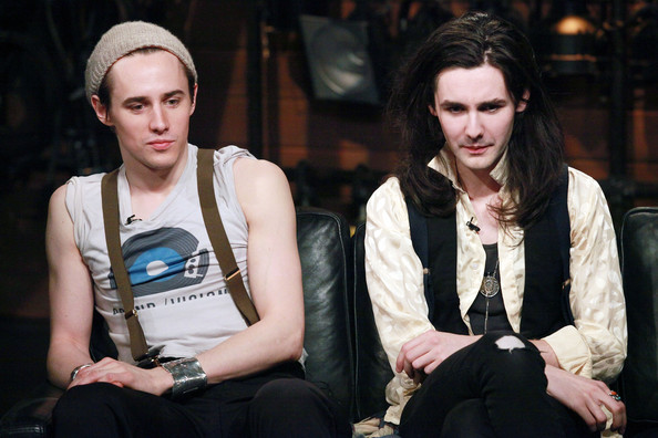 Reeve Carney & Zane Carney Visit Fuse [fashion,human,event,photography,performance,fashion design,reeve carney,zane carney,l-r,new york city,zane carney visit fuse,rock band,fuse studios,fuses top 20 countdown]