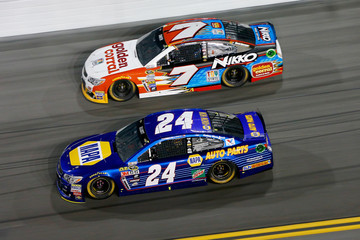 Regan Smith Chase Elliott NASCAR Sprint Cup Series Can-Am Duels at Daytona