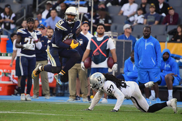 Reggie Nelson Oakland Raiders vLos Angeles Chargers