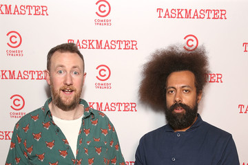 Reggie Watts Comedy Central's 'Taskmaster' Premiere Party