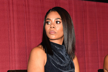Regina Hall 'The Hate U Give' Cast, Director And Author Attend Red Carpet Screening In Atlanta