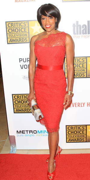 Regina King - Broadcast Television Journalists Association Second Annual Critics' Choice Awards - Arrivals