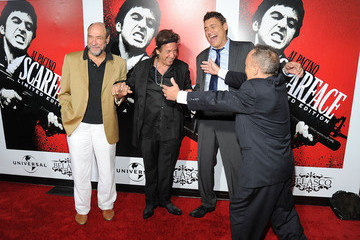 """Al Pacino F. Murray Abraham Release Of """"Scarface"""" On Blu-ray - Arrivals"""