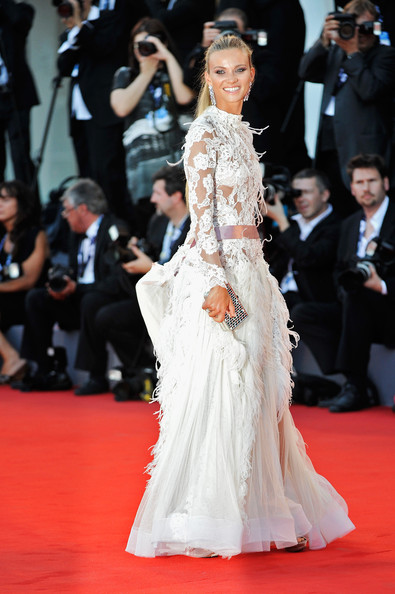 "Fiammetta Cicogna attends ""The Reluctant Fundamentalist"" Premiere And Opening Ceremony during the 69th Venice International Film Festival at Palazzo del Cinema on August 29, 2012 in Venice, Italy."