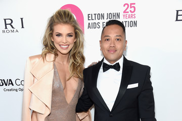 Rembrandt Flores 26th Annual Elton John AIDS Foundation Academy Awards Viewing Party sponsored by Bulgari, celebrating EJAF and the 90th Academy Awards - Red Carpet