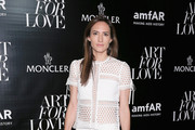 Zani Gugelmann attends a private viewing of Art For Love: 32 Photographers Interpret The Iconic Moncler Maya Jacket hosted by Remo Ruffini, Moncler Chairman and Kevin Robert Frost on September 11, 2015 in New York City.