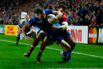 Remy Grosso France v Canada - Group D: Rugby World Cup 2015