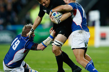 Renaldo Bothma New Zealand v Namibia - Group C: Rugby World Cup 2015
