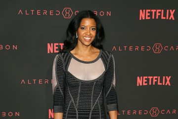 "Renee Elise Goldsberry Premiere Of Netflix's ""Altered Carbon"" - Arrivals"
