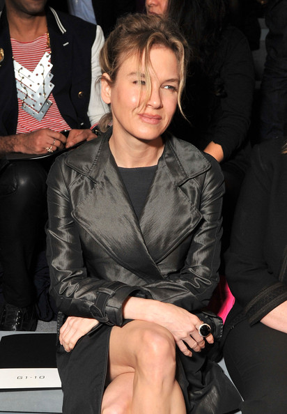 Renee Zellweger Actress Renee Zellweger attends the Vera Wang Fall