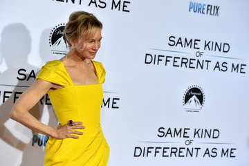Renee Zellweger Premiere of Paramount Pictures and Pure Flix Entertainment's 'Same Kind of Different As Me' - Arrivals