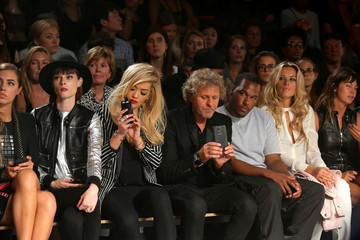 Renzo Rosso Amber Le Bon Diesel Black Gold - Front Row - Mercedes-Benz Fashion Week Spring 2015