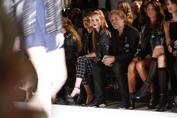 Renzo Rosso Diesel Black Gold - Front Row - Spring 2016 New York Fashion Week