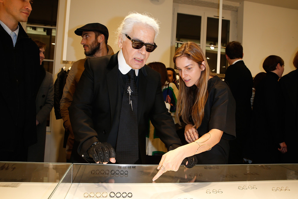 gaia repossi in repossi for colette at colette in paris. Black Bedroom Furniture Sets. Home Design Ideas