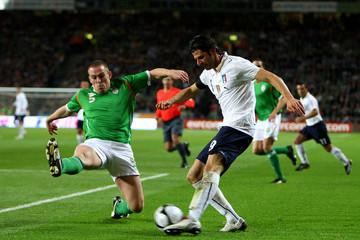 Vincenzo Laquinta Republic of Ireland v Italy - FIFA2010 World Cup Qualifier