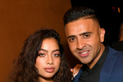 Kiana Ledé and Jay Sean attend Republic Records Celebrates The 2019 VMAs At The Fleur Room At Moxy Chelsea on August 26, 2019 in New York City.