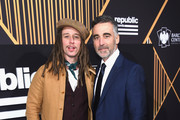 Singer JP Cooper and Republic Records co-founder Avery Lipman attend Republic Records Celebrates the GRAMMY Awards in Partnership with Cadillac, Ciroc and Barclays Center at Cadillac House on January 26, 2018 in New York City.