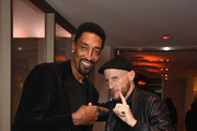 Scottie Pippen (L) and  guest during Republic Records Grammy after party at Spring Place Beverly Hills on February 10, 2019 in Beverly Hills, California.