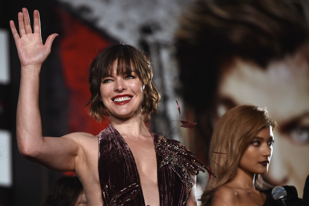 Resident Evil The Final Chapter Premiere In: Milla Jovovich Photos Photos