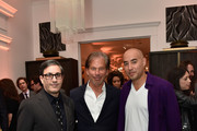 Host Committee Jason Weinberg, RH Chairman and CEO Gary Friedman and Max Osterweis attend the unveiling of RH Modern at RH New York, The Gallery in the Historic Flatiron District on October 22, 2015 in New York City.