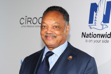 Rev. Jesse Jackson Arrivals at the Ebony Power 100 List