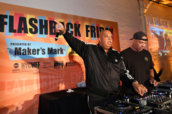 Food Network And Cooking Channel New York City Wine And Food Festival [disc jockey,deejay,electronics,event,angela yee,rev run,food network,appearance,highline stages,new york city,capital one,cooking channel,makers mark,new york city wine food festival]