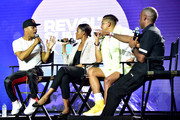 T.I., Candace Owens, Steven Pargett, and Jeff Johnson speak onstage during day 3 of REVOLT Summit x AT&T Summit on September 14, 2019 in Atlanta, Georgia.