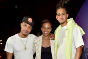 T.I., Candace Owens, and Steven Pargett attend day 3 of REVOLT Summit x AT&T Summit on September 14, 2019 in Atlanta, Georgia.