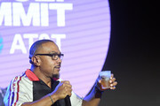 Artist Timbaland speaks onstage during day 1 of REVOLT Summit and AT&T Summit on September 12, 2019 in Atlanta, Georgia.