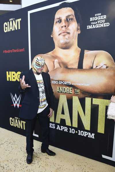 rey mysterio photos photos premiere of hbo s andre the giant