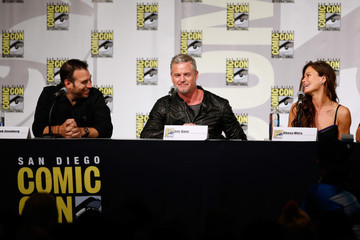 Rhona Mitra TNT at Comic-Con International: San Diego 2015 - 'The Last Ship' Panel