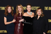 """(L-R) Robyn Lively, Ofira Sandberg, Blake Lively, and Lorraine Schwartz attend the screening of """"The Rhythm Section"""" at Brooklyn Academy of Music on January 27, 2020 in New York City."""