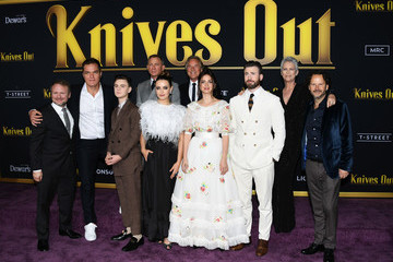 Rian Johnson Premiere Of Lionsgates' 'Knives Out' - Arrivals