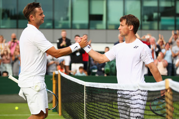 Ricardas Berankis Day One: The Championships - Wimbledon 2016
