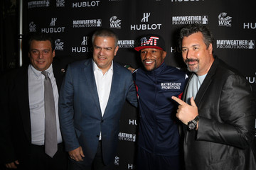 Ricardo Guadalupe Mauricio Sulaiman HUBLOT And Floyd Mayweather Jr.: The Perfect Combination For the Fight of the Century