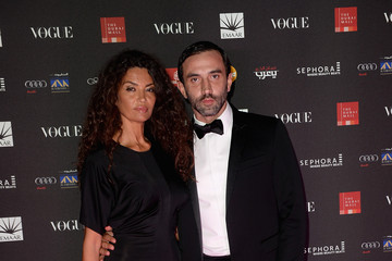 Riccardo Tisci Arrivals at the Vogue Fashion Dubai Experience