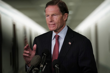 Richard Blumenthal Senate Judiciary Committee Meets To Vote On Supreme Court Nominee Kavanaugh
