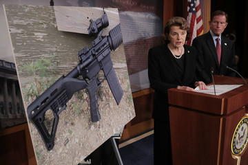 Richard Blumenthal Sen. Feinstein Introduces Bill to Ban Devices to Make Weapons Fully Automatic