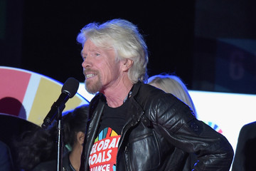 Richard Branson 2015 Global Citizen Festival in Central Park to End Extreme Poverty By 2030 - Show