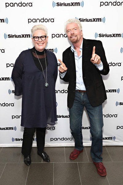 Celebrities Visit SiriusXM - January 15, 2020 [event,photography,celebrities,richard branson,halla tomasdottir,coverage,new york city,siriusxm,siriusxm studios,richard branson,new york,photograph,broadcasting,siriusxm satellite radio,halla t\u00f3masd\u00f3ttir,celebrity,getty images]