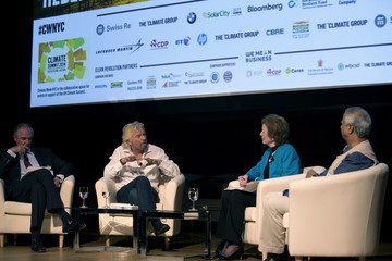 Richard Branson Global Leaders Attend NYC Climate Week Event