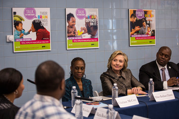 Richard Buery Hillary Clinton and NYC's First Lady Announce Childhood Development Initiative