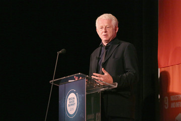 Richard Curtis Celebs Attend the 2015 Social Good Summit - Day 1
