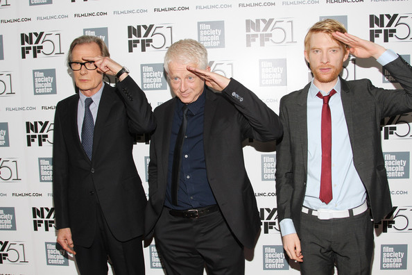 Richard Curtis and Domhnall Gleeson - 'About Time' Premieres in NYC