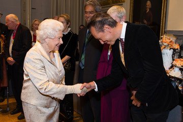 Richard E. Grant The Queen and Duke of Edinburgh Attend an Awards Ceremony at The Royal Academy of Arts