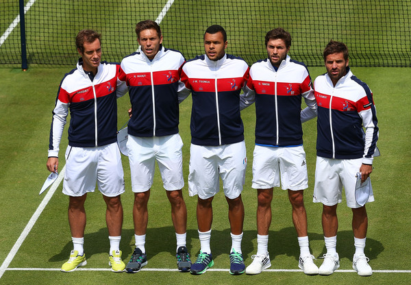 Great Britain v France - Davis Cup: Day One