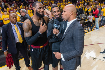 Richard Jefferson Toronto Raptors Vs. Cleveland Cavaliers - Game Four