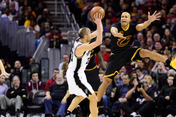 Richard Jefferson San Antonio Spurs v Cleveland Cavaliers